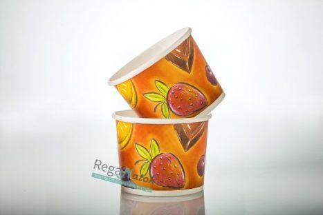 """כוס לגלידה 140 מ""""ל-500 יח'"""