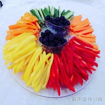פלטת ירקות גלריה